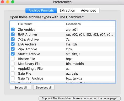howtoopenrar files on mac