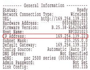 No IP Address