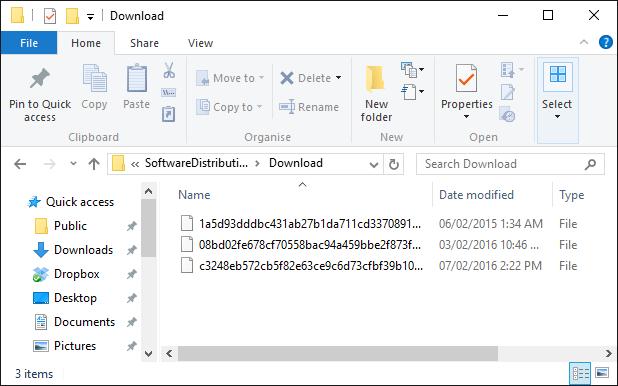 update download folder windows 10