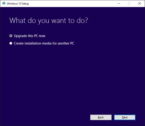 Windows 10 Setup issues