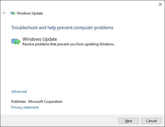 fix Windows Update Problems